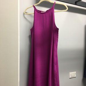 Banana Rep halter shift dress